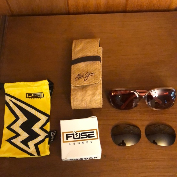 Fuse Lenses Polarized Replacement Lenses for Maui Jim Ocean MJ-723